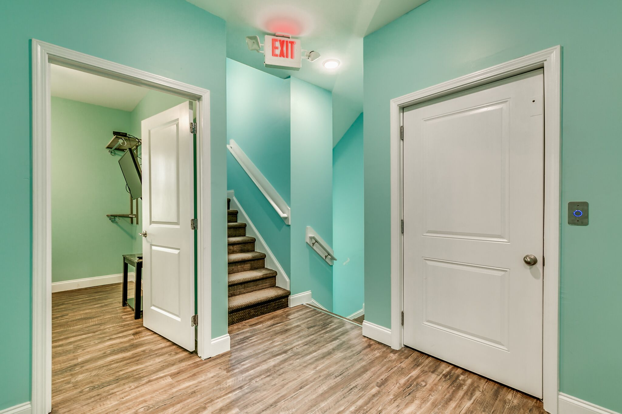 208 3rd Ave hallway and stairs.