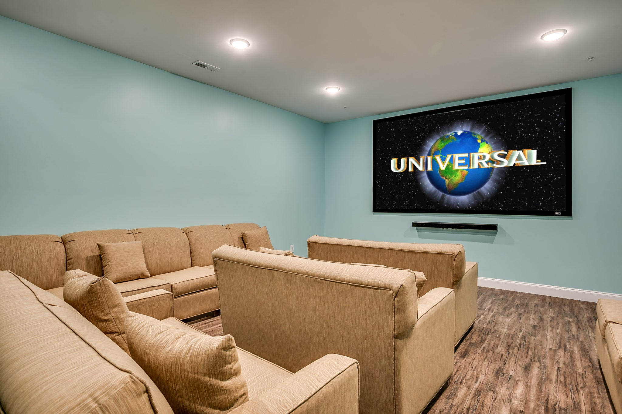 204 54th Ave N home theater