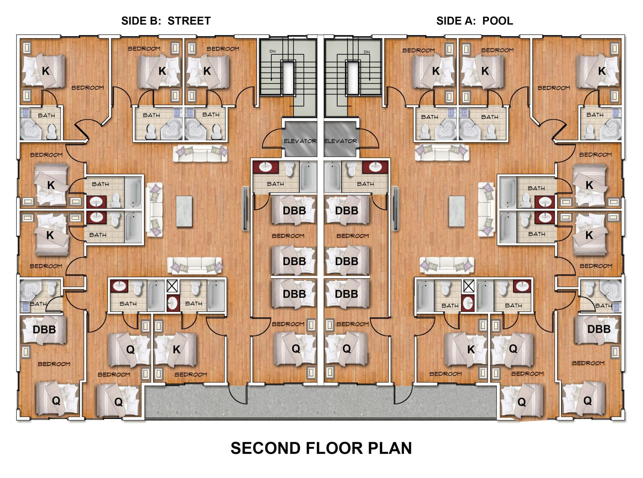 208 3rd Avenue second floor plan.